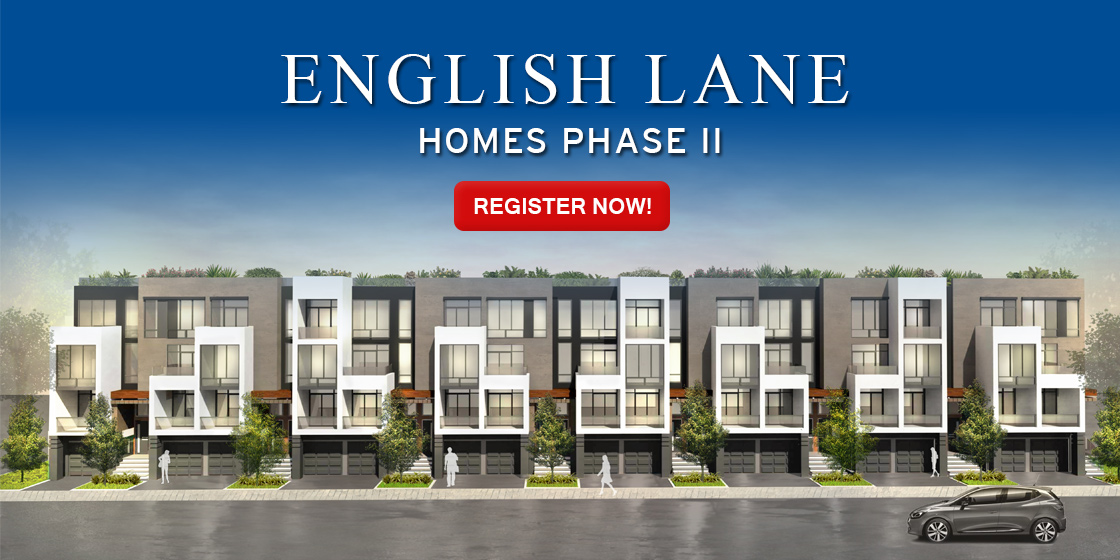 EnglishLane Townhomes. Register Now